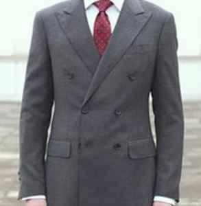 双排扣西装扣子如何扣 正装西装与休闲西装的区别