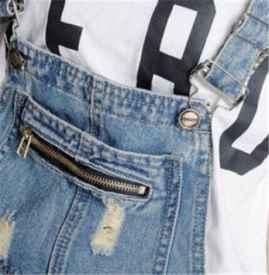 背带裤带子如何diy加长 如何解决背带裤容易脱落的方法