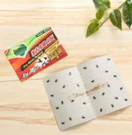 粘蠅板的膠怎么洗掉 蒼蠅最怕什么
