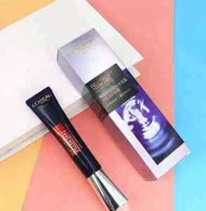 欧莱雅紫熨斗防伪码在哪 眼霜能不能天天涂
