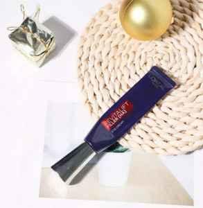 欧莱雅紫熨斗去黑眼圈有用吗 正确涂眼霜的手法