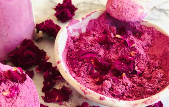 玫瑰粉做面膜的功效与作用