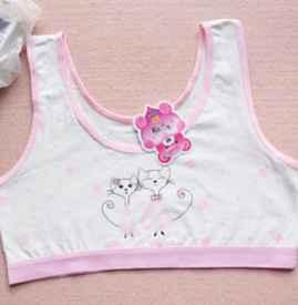 小背心和胸罩有什么区别 少女内衣应该选海绵还是纯棉垫
