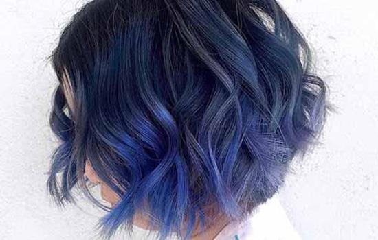 蓝色头发直接上棕色能上去吗 蓝色头发怎么改成棕色