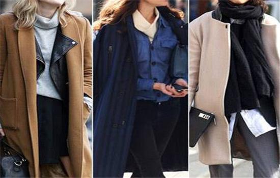 衣服怎么搭配好看 欧美冬季穿搭街拍