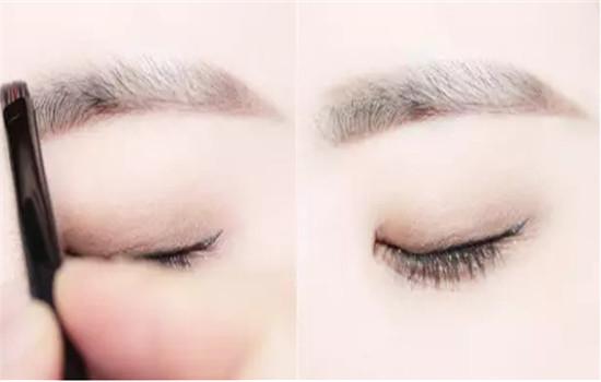 亚洲版欧美妆,单眼皮和肿眼泡也能大胆尝试