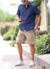 男生襯衫可以配短褲嗎 男生夏天這樣穿帥到起飛
