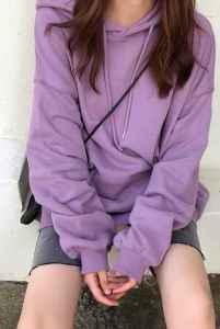 黄皮穿紫色衣服显黑吗