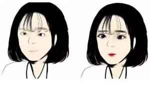 天天化妆和不化妆,一年后有什么区别