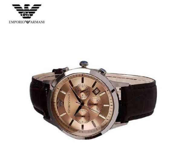 戴阿玛尼手表是不是很没面子