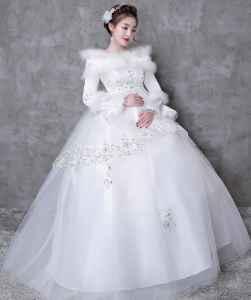 冬天穿婚纱怎么保暖
