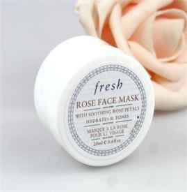 馥蕾诗玫瑰面膜效果怎么样 Fresh缔造崭新的护肤体验