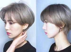 张馨予短发发型叫什么