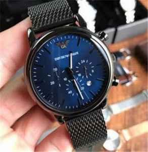 阿玛尼手表链子长了怎么调