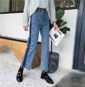 直筒牛仔裤和修身牛仔裤的区别
