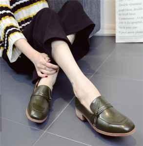 乐福鞋和皮鞋区别