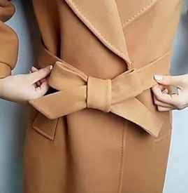 大衣蝴蝶结的打法 大衣蝴蝶结怎么系简单好看
