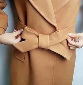 大衣蝴蝶結的打法 大衣蝴蝶結怎么系簡單好看