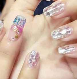 怎么卸指甲店做的指甲 怎么做美甲不容易掉