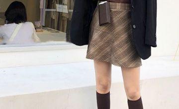 半身長裙搭配圖片 這樣穿清爽亮眼