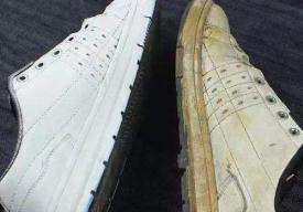 白鞋鞋边发黄是什么原因 白鞋鞋边发黄有什么办法变白