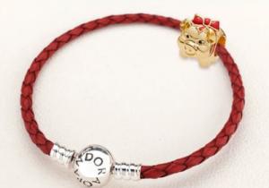 潘多拉猪年红绳手链的尺寸怎么选 多少钱