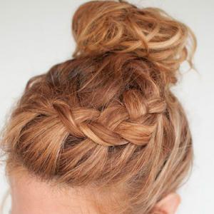 头发稀少怎么扎丸子头 适合什么发型