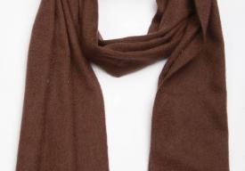 羊絨圍巾為什么貴 怎么挑選