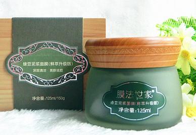 膜法世家1908绿豆泥浆面膜使用方法 用完要洗脸吗