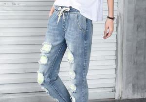牛仔褲會越穿越大嗎  要買小一碼嗎