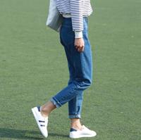 牛仔裤风格分类 BF紧身阔腿喇叭
