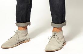 卷裤腿的正确方法 穿什么袜子好