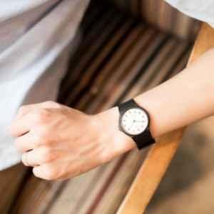 穿长袖衬衫怎么带手表