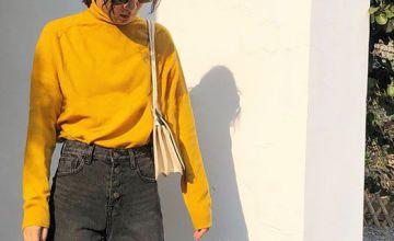 拖地牛仔褲配什么上衣 今年流行這種搭配