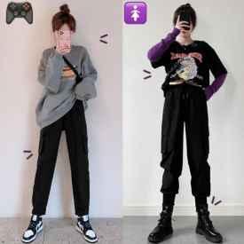 休闲裤怎么搭配上衣