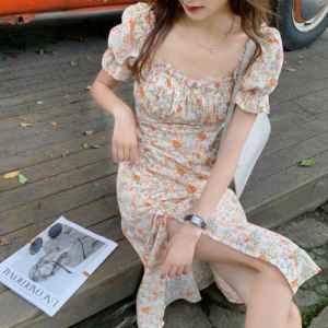 碎花连衣裙的卖点介绍