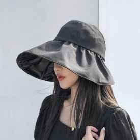 皮肤黑戴什么颜色的帽子显白