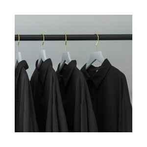 男士黑色衬衫怎么搭配