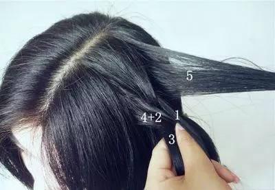 辫子发型扎法图解步骤 简单辫子发型扎法教程