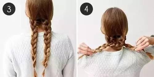 三股辫的编发教程 三股辫盘发发型步骤详解