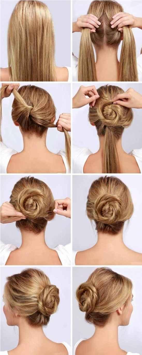 简单扎发教程步骤图解 几款快速编好头发的方法