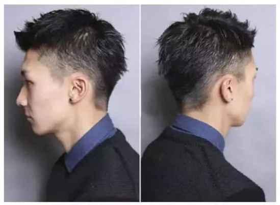 好看的无刘海好看男生发型 推荐四款无刘海超帅图片