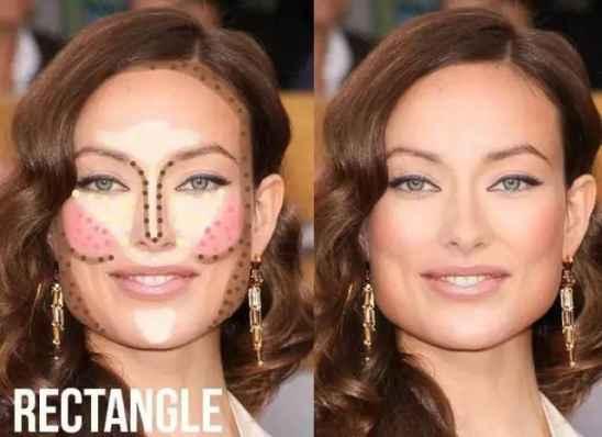 各脸型的修容方法 圆脸鹅蛋脸的修容技巧更好看
