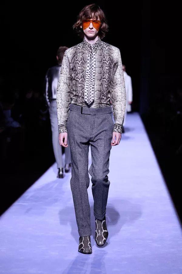 男装时装秀 2018男装时装秀 这些男装款式搭配酷毙了