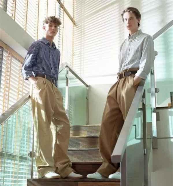 男生闊腿褲搭配圖片 男生這樣穿闊腿褲帥極瞭