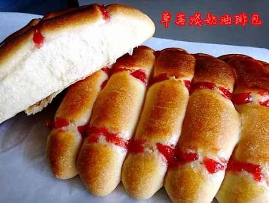 家庭最简单面包的做法_华林品华居简单的家庭面包做法