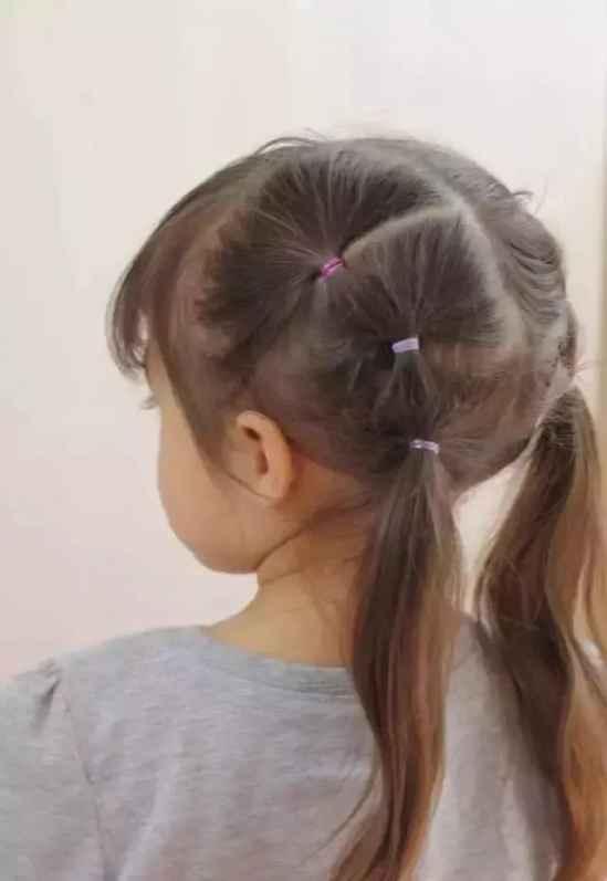 儿童简单长发编发 小女孩长发编发详细步骤