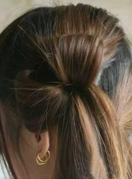 简单头发扎发教程图解 头发怎么扎最好看