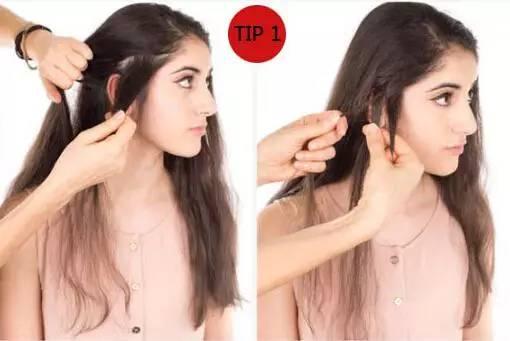 快速扎发教程图解 头发这样扎简单快速