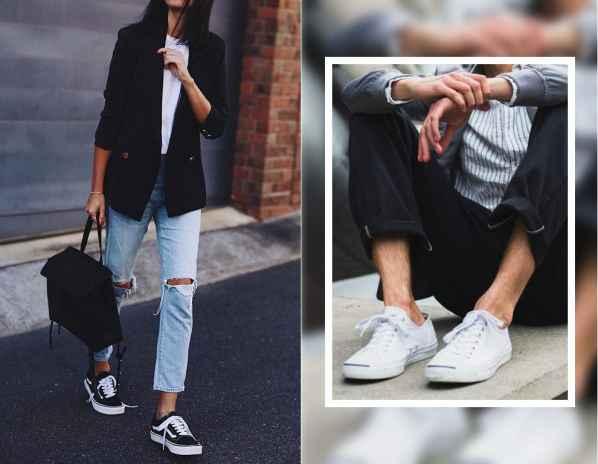 帆布鞋闊腿褲怎么搭配 帆布鞋闊腿褲搭配方案